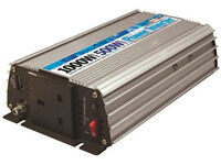 12v - 240v 1000 peak 500 Watt continuous Inverter with USB, Car Caravan Boat Power Source £35 ono.