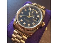 ROLEX DAYDATE GOLD STONE SET HOUR MARKERS 💎💎£185💎💎