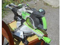 Evolution Fury3 210mm sliding & tilting mitre saw £50