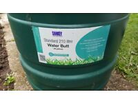 Brand New, never used 210 Litre (46 Gallons) water butt
