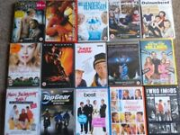 36 ASSORTED DVDS Ideal for car boot