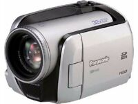 Panasonic Camcorder 30GB hard drive+ free carry bag + free sd card and another camera also free