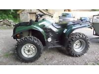 2002 Yamaha 400cc Quad and 2015 tipping trailer