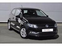 Volkswagen Polo SE 1.0 Bluemotion 3dr Black Fully Serviced Low mileage