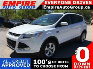 2016 FORD ESCAPE SE * AWD * REAR CAM * BLUETOOTH * SAT RADIO SYS