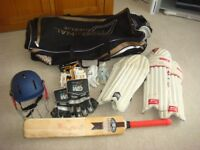Cricket Equipment Bundle for child aged 12-14yrs