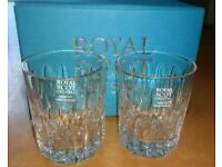 BNIB Royal Scot Whisky Tumblers x 2