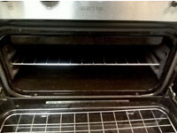 1 year old Eye level Digital Diplomat integrated double electric oven.Manual, Delivery,installation