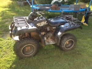 To trade - 2001 Yamah grizzly