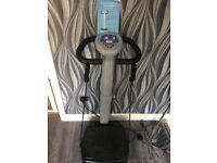 Exercise vibrapower machine ..