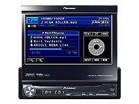 pioneer single din in car dvd system