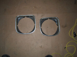 1973 1974 Nova SS head light bezel's $20