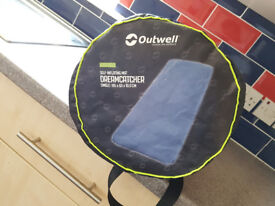 Outwell Dreamcatcher Single 10cm Self-Inflating Mattress + Quilt Cover