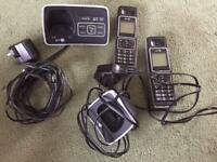 BT 6500 Twin Cordless Phone with Answering Machine