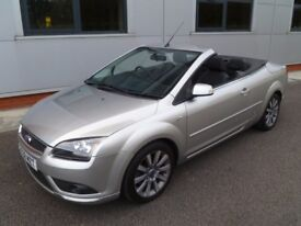 FORD FOCUS CC CONVERTIBLE LOW MILEAGE WITH SERVICE HISTORY