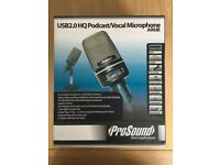 ProSound USB 2.0 HQ Podcast/Vocal Microphone