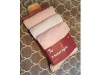 Brand new 3x ballet tights age 3-4