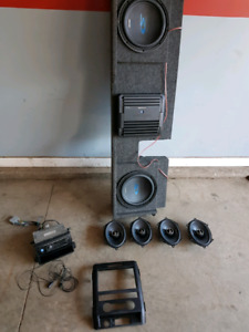 Complete alpine stereo system