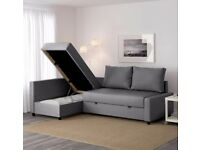 HOUSE CLEARANCE PUTNEY, ALL IKEA FURNITURE - FRIHETEN SOFA BED, CHEST OF DRAWERS, COFFEE TABLE, BED