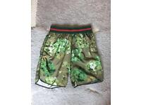 Gucci swimming trunks size medium