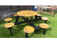 Another unusual 8 seater Garden Picnic/Party set