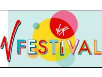 Vfestival yellow camping Weston park x2