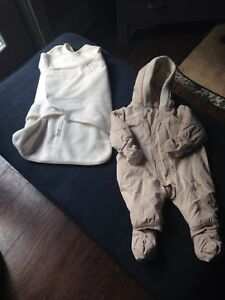 Sleep sack swaddle and snow suit