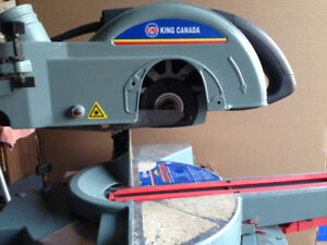 """Wanted parts for King Canada 10"""" Compound Miter Saw Model 8372"""