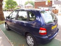 02 RENAULT SCENIC 1.4 EXPRESSION 5 DOOR CHEAPIE 2 CLEAR !!!!
