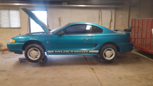 2 mustangs for sale.
