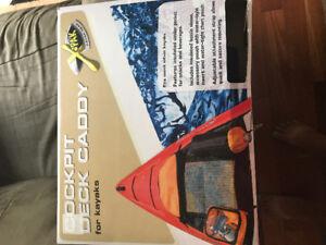 Kayak deck caddy