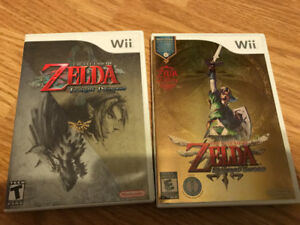 Zelda skyward sword and twilight princess