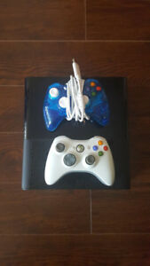Xbox 360 + 2 Controllers + Sharp Quality + In Perfect Condition!