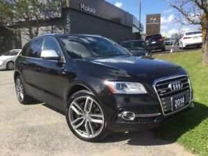 2014 Audi SQ5 SQ5 Supercharged, 2 sets wheels & Tires