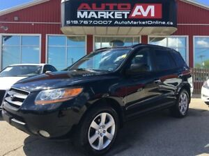 2009 Hyundai Santa Fe Limited, Leather, Alloys, WE APPROVE ALL C