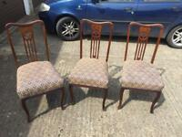 Chairs From £5 each, can deliver