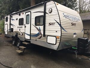 2014 Keystone Springdale 267 BHSE with warranty!!!