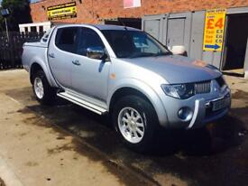 Mitsubishi l200 Trojan 59 Reg no vat canopy low mileage tow bar finance available immaculate