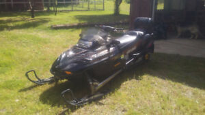 2002 ski-doo 800 twin grand touring special edition