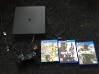 Ps4 with call of duty infinite warfare Fifa 17 and mafia 3 with a Fifa ultimate team worth hundreds
