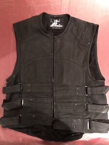 Men's Large Motorcycle Vest