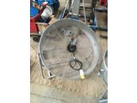 2 large industrial fan spares or repairs