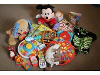 Baby Kids Toys Selection Bundle Teddies Books