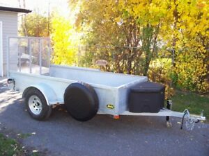 "5'x10' 2"" hot dipped 3500lb galvanized trailer. Sorry it's sold!"