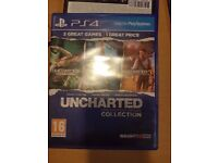 Uncharted collection 123 PS4