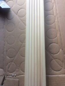 Crown moulding and door trim