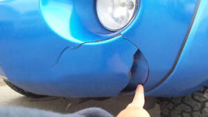WE FIX CRACKED BUMPERS, SCRATCHES, RIMS, RUST SPOTS AND MORE!!