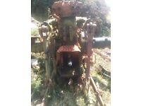 Same Silver 100.6 Gearbox Differential Hydraulic 1/2 Axles