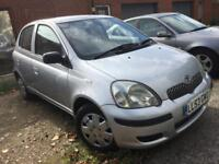 Toyota Yaris 2004 Spares repairs gearbox fault