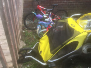 Bike Baby seat and Carrige